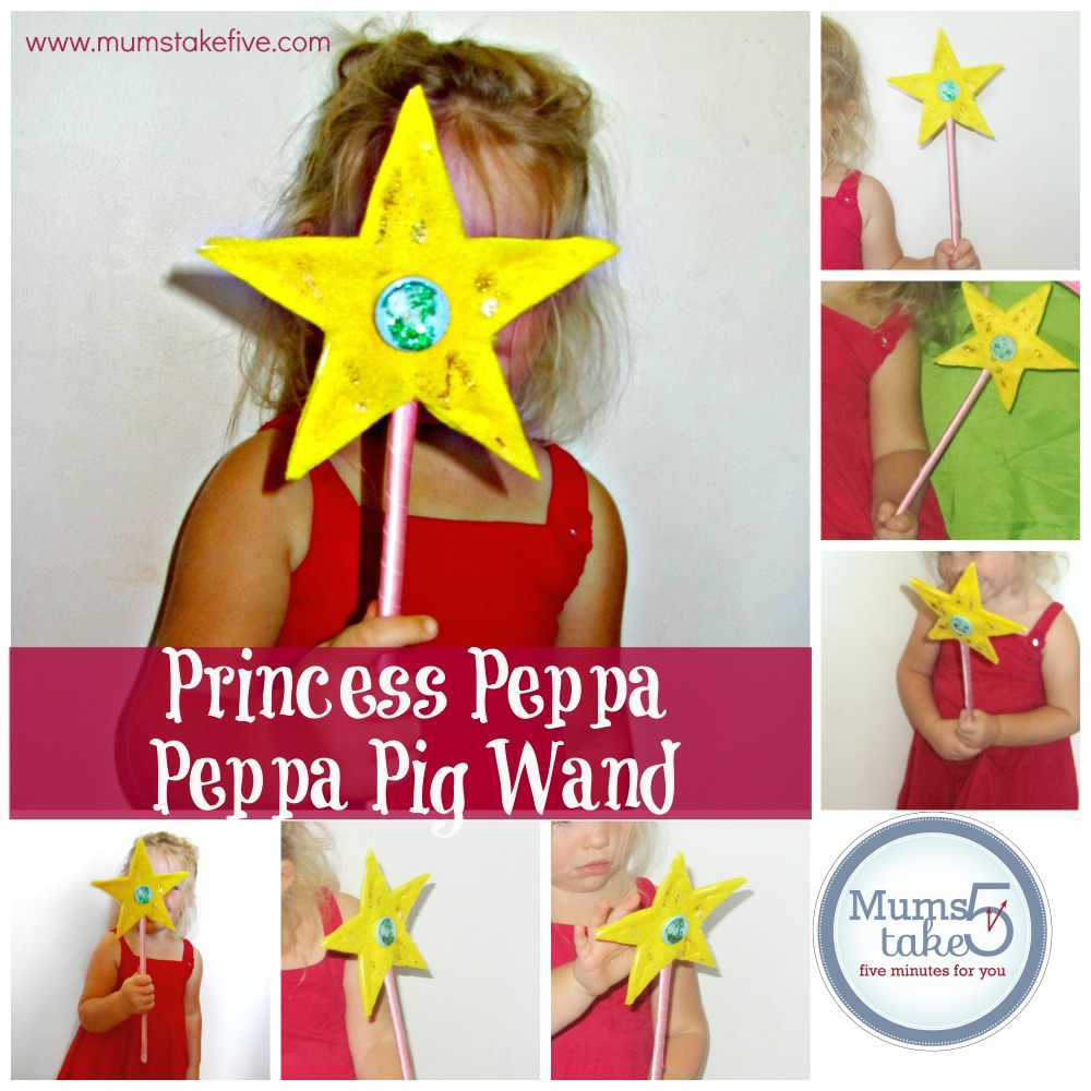 Princess Peppa Peppa Pig Princess wand