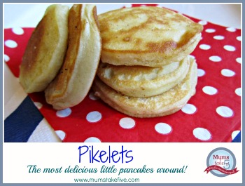 Pikelets Little Pancakes Recipe