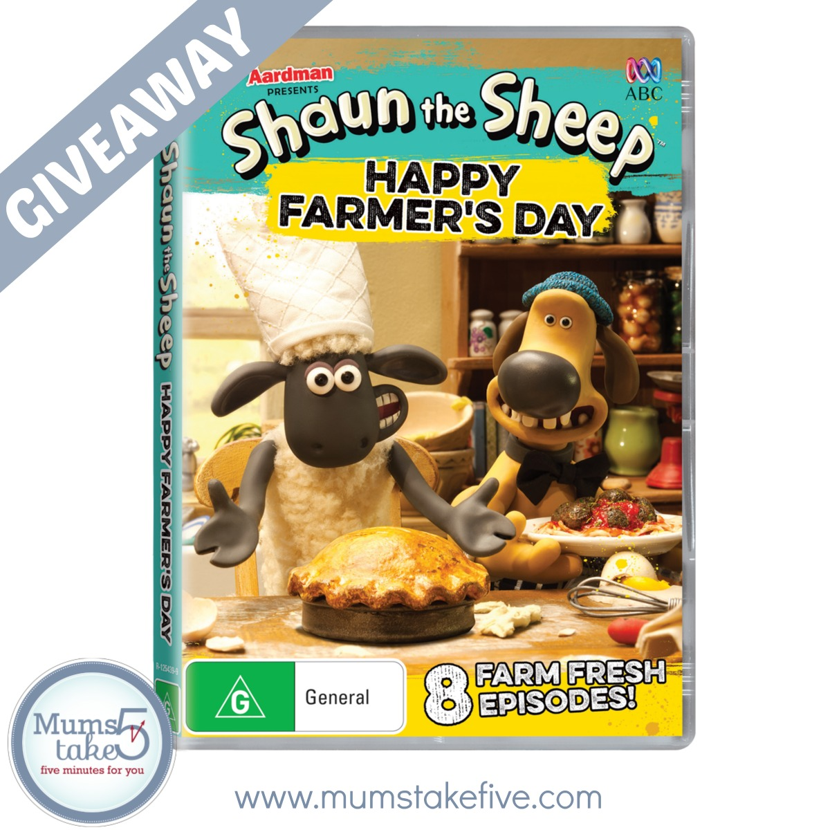 Shaun the Sheep Happy Farmer's Day  ABCkids