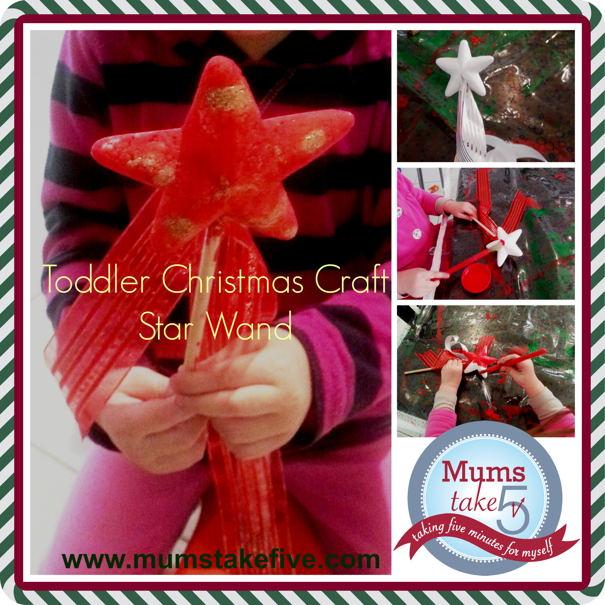 Christmas Star Toddler Craft
