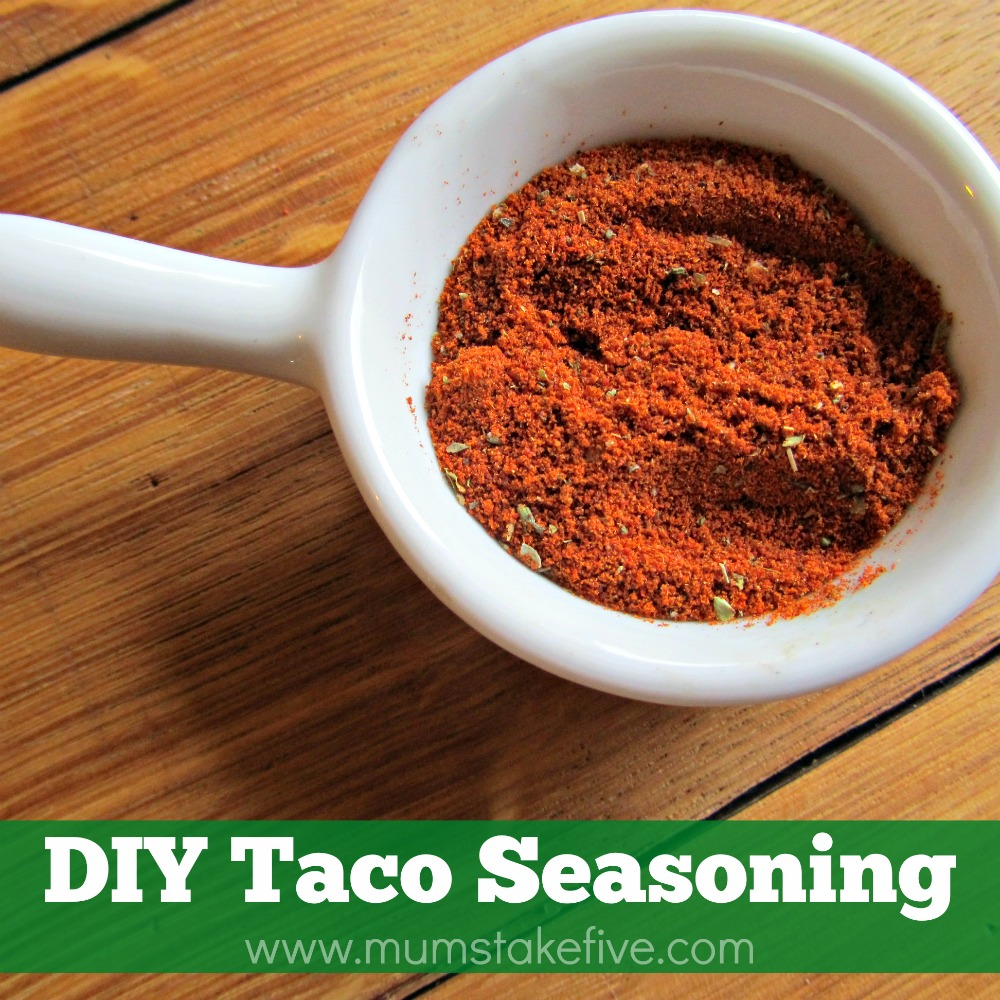 taco seasoning diy recipe