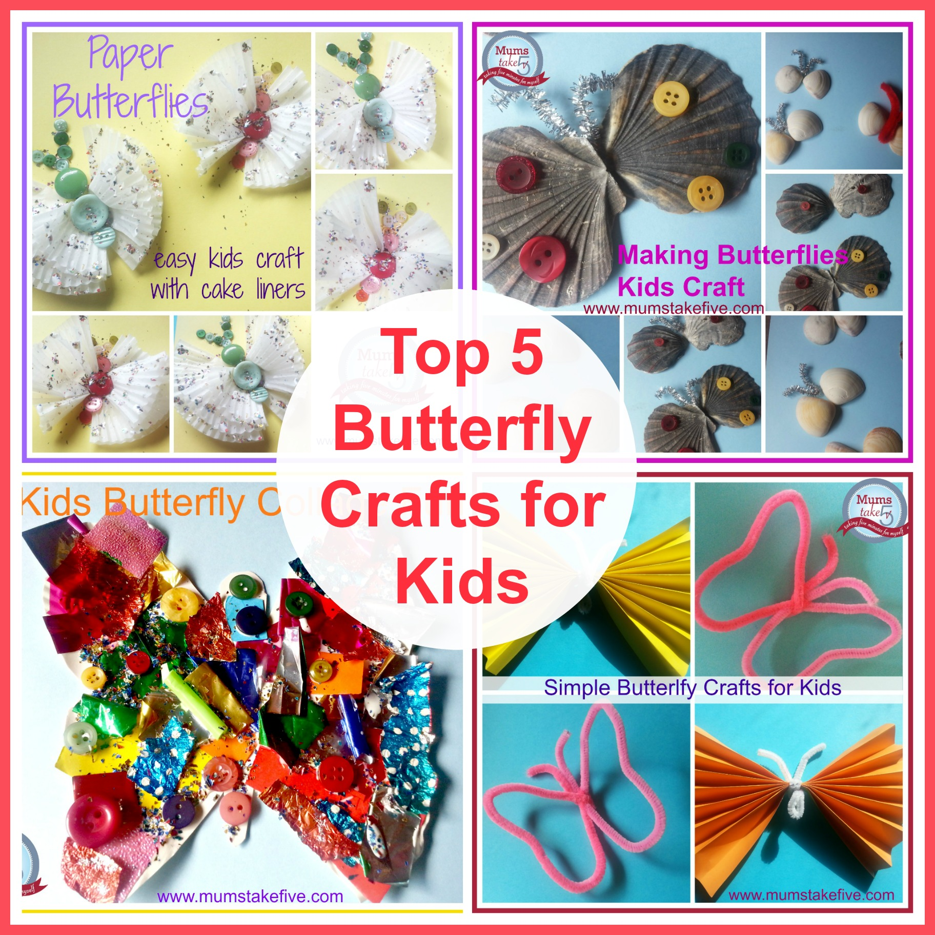http://www.mumstakefive.com/index.php/craft-learn-play/crafts/266-top-five-butterfly-crafts-for-kids
