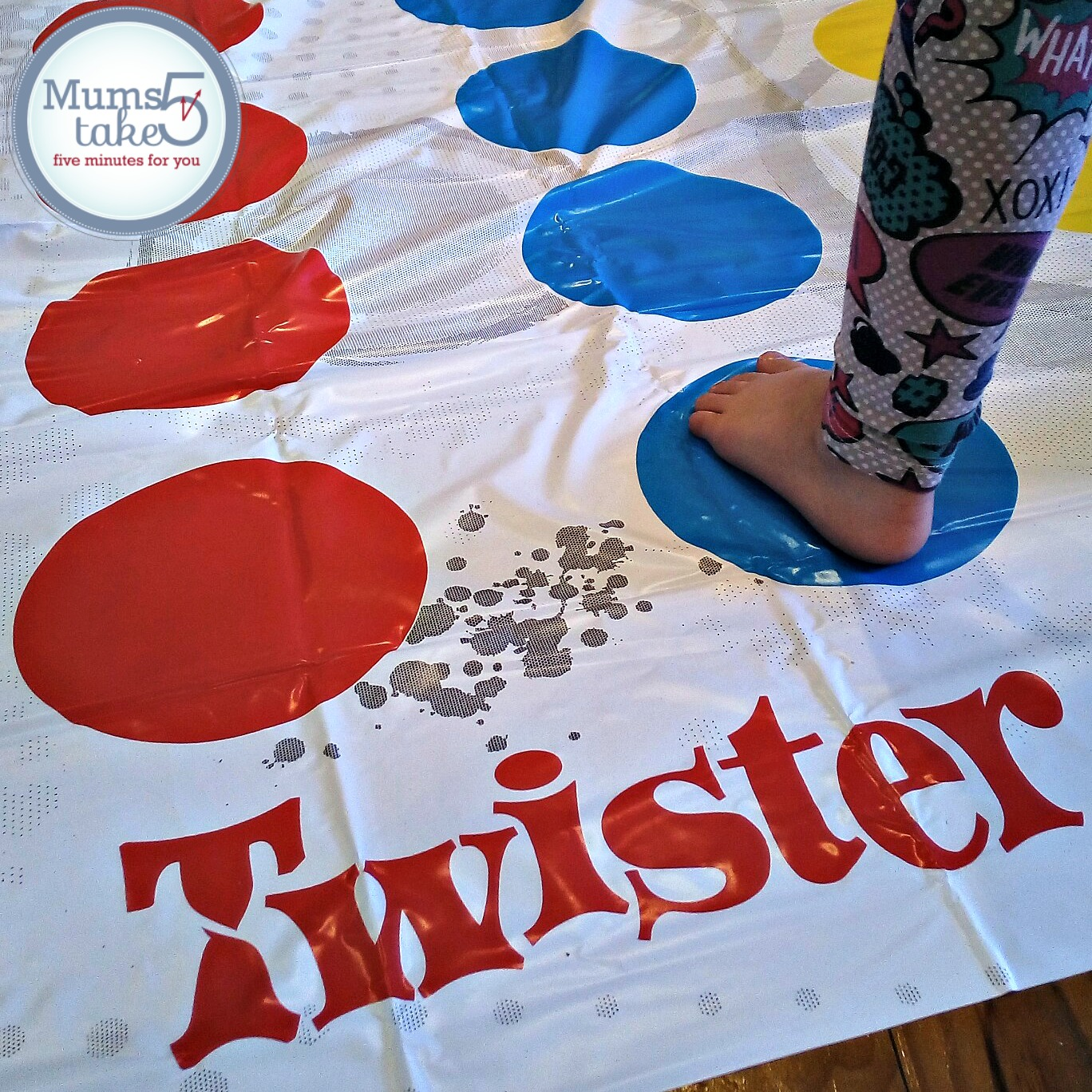 Twister 50th Anniversary Game