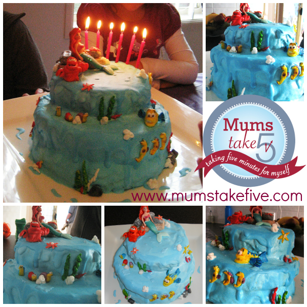 Under the sea cake photo