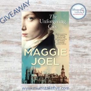 Unforgiving City Maggie Joel Review and GIveaway