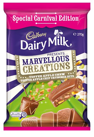 Cdburys Marvellous Creations block